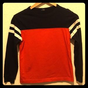 Other - Boy's Long Sleeve T-Shirt Orange and Blue